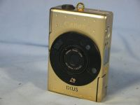 '   GOLD -LIMITED EDITION- ' Canon Ixus -GOLD LIMITED EDITION- Rare Camera £69.99